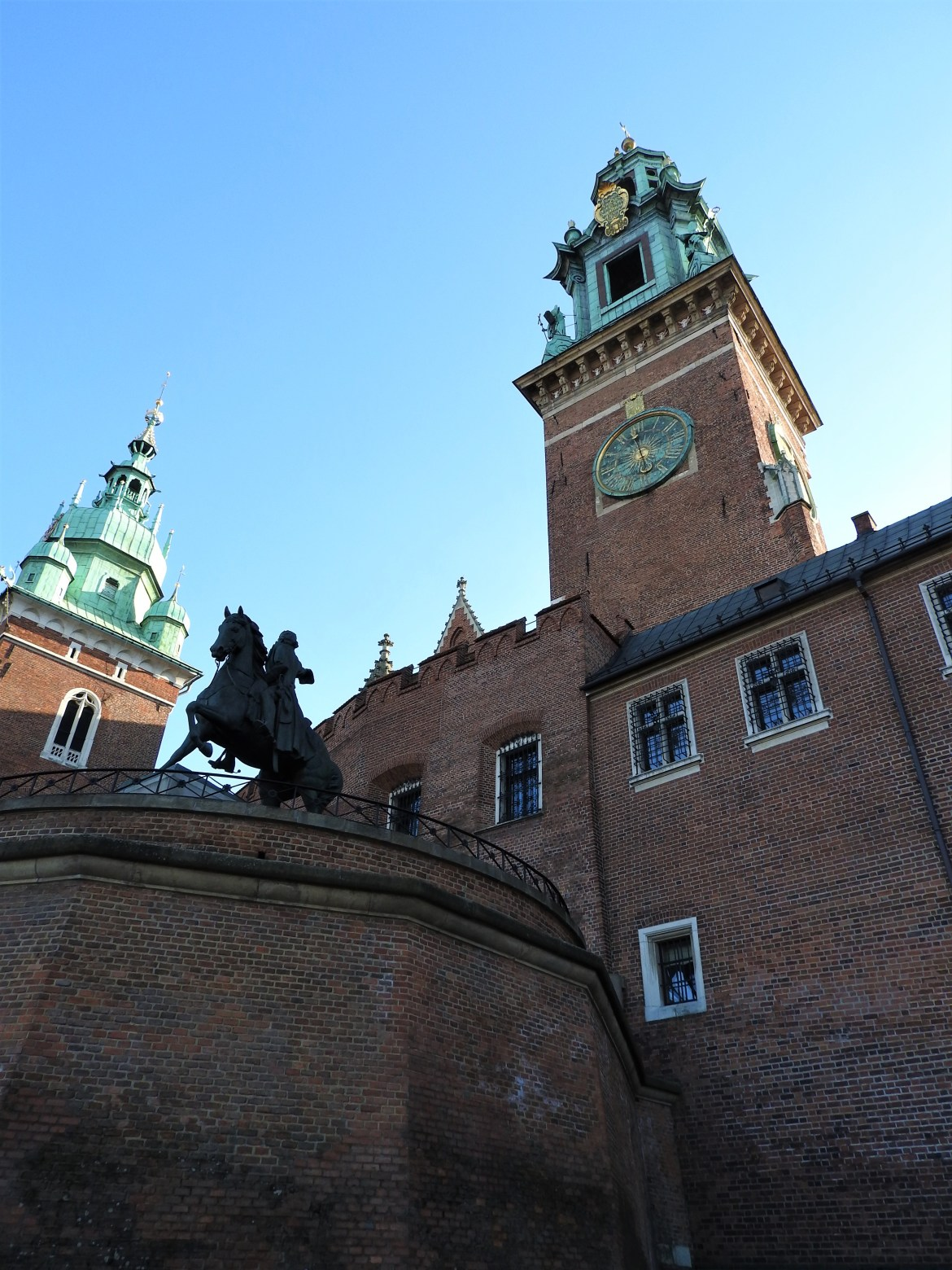 chateau-wawel-statue-cracovie