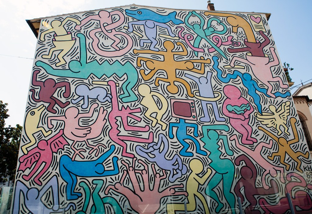 steet-art-keith-haring-visiter-pise