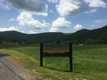 Mountain Valley Farm Entrance