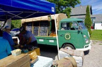 Cool '65 VW truck @ the Farmer's Market