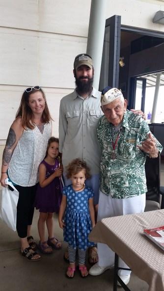 we had the pleasure of meeting Al Rodrigues, PH survivor