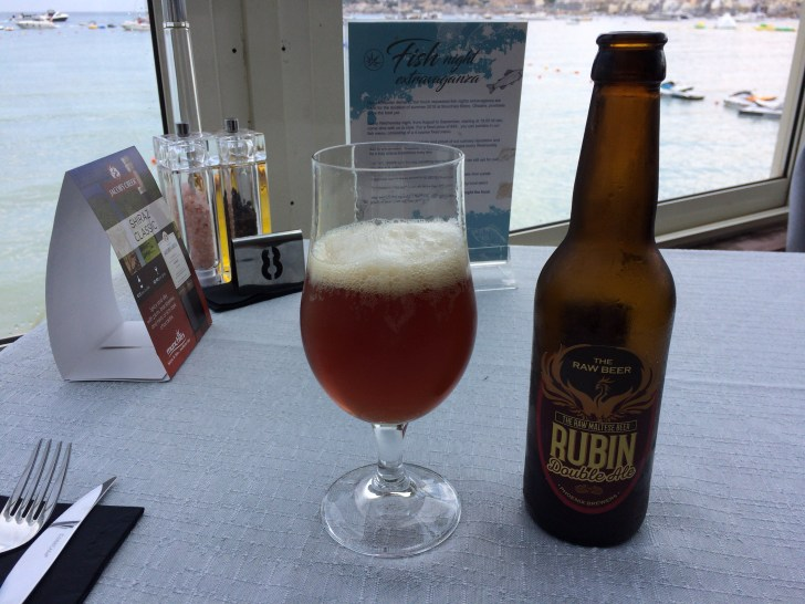 マルタビール「Rubin Double Ale」