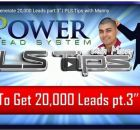 power lead system tips with manny