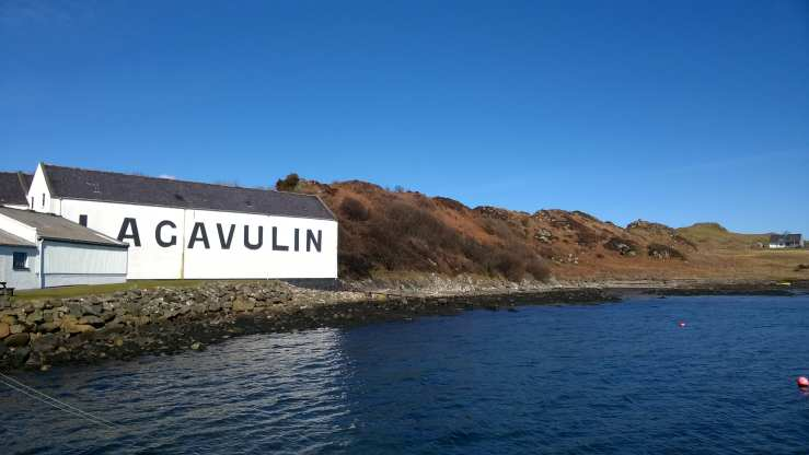 Lagavulin Distillelry Islay