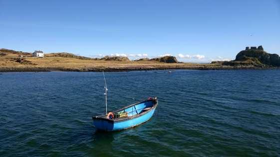 Islay lovely boat