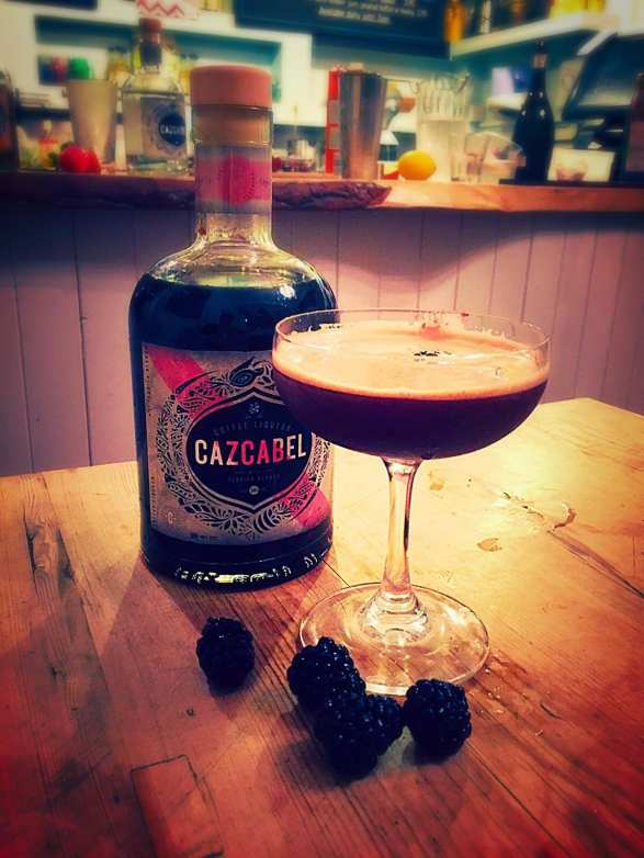 Cazcabel coffee and blackberry