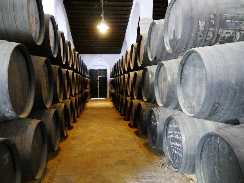 barrels sherry