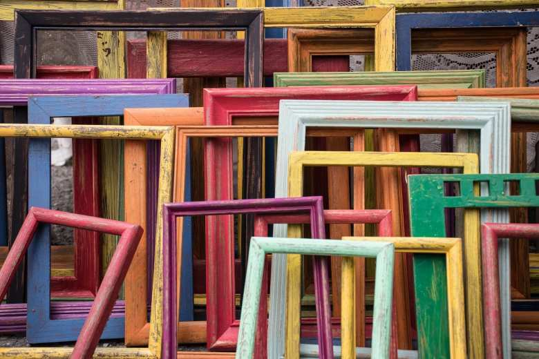 pastel frames