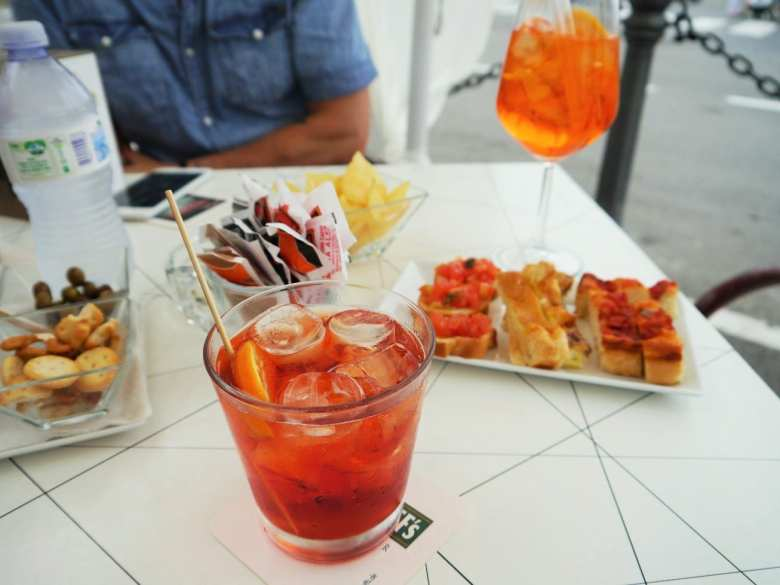 aperitivo cocktails