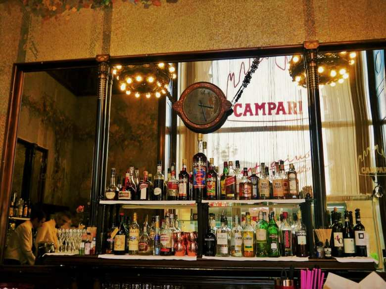 campari in galleria
