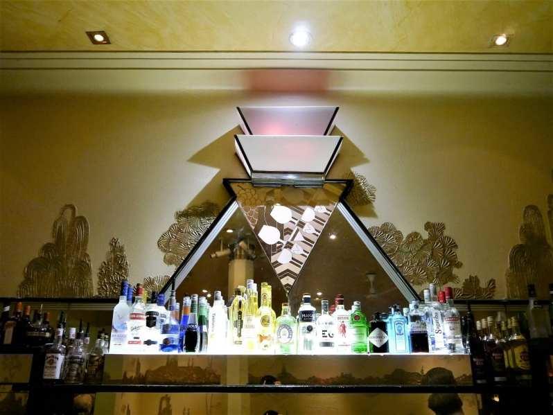 cocktail bar at Rogano