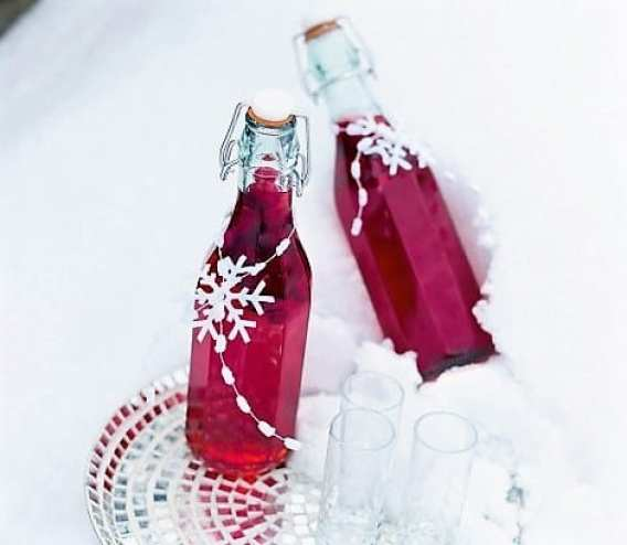 cranberry flavoured vodka