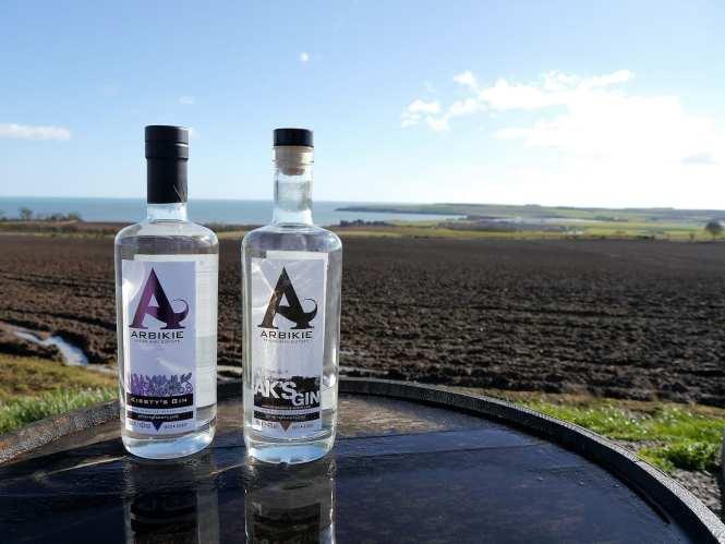 Arbikie Scottish gin