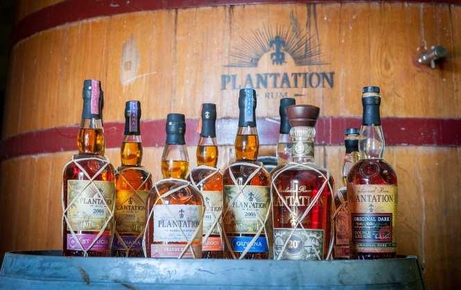 Plantation rums