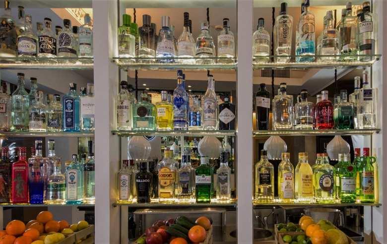 gin corner in Rome