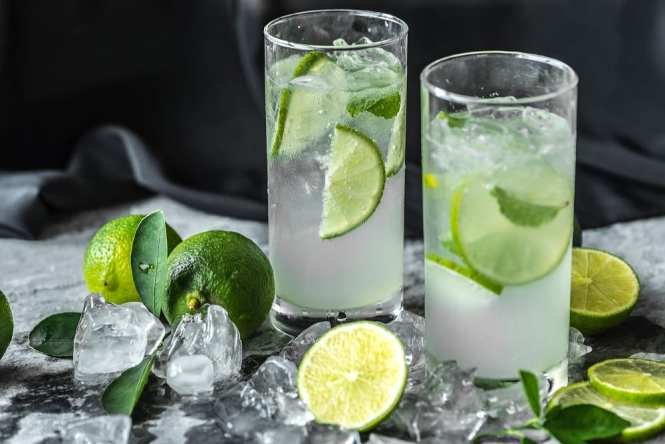 vodka lime and soda