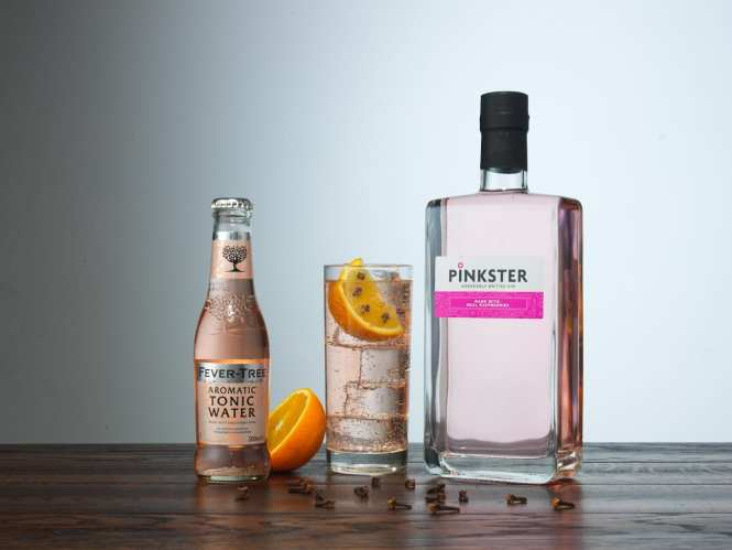 pinkster gin winter serve