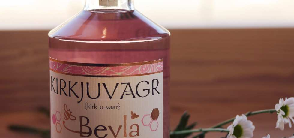 Beyla raspberry and honey gin