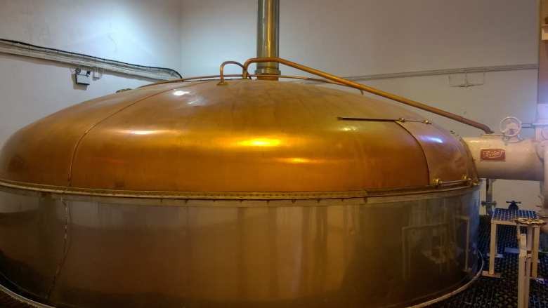 Copper mash tun