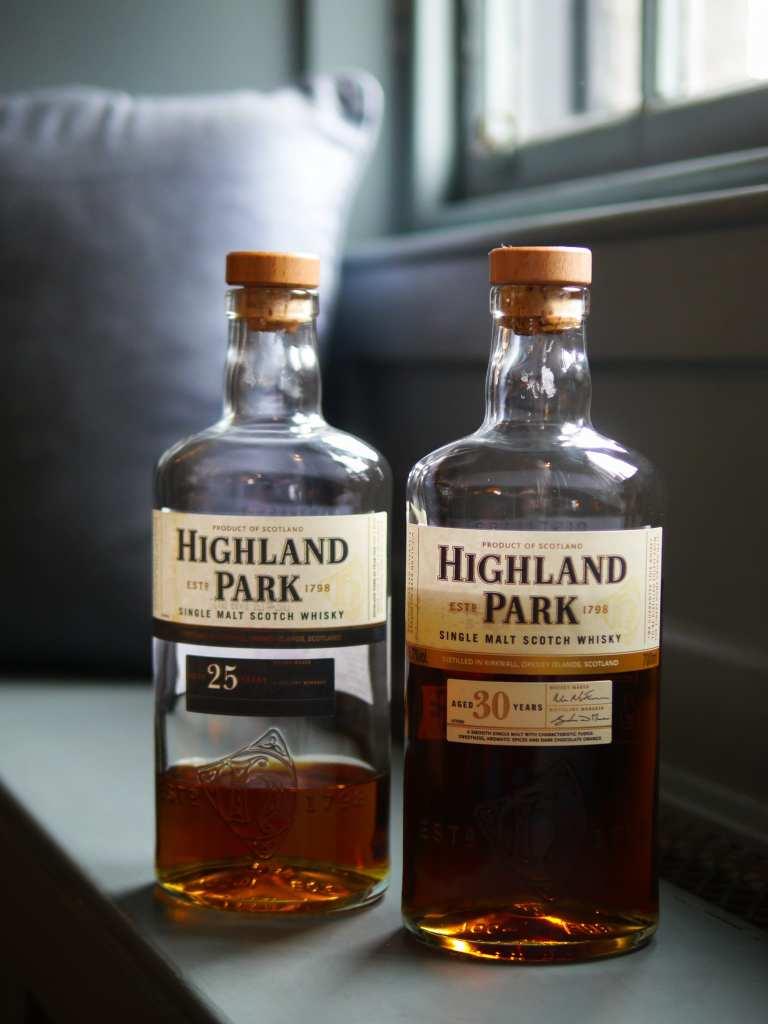 Highland Park bottles