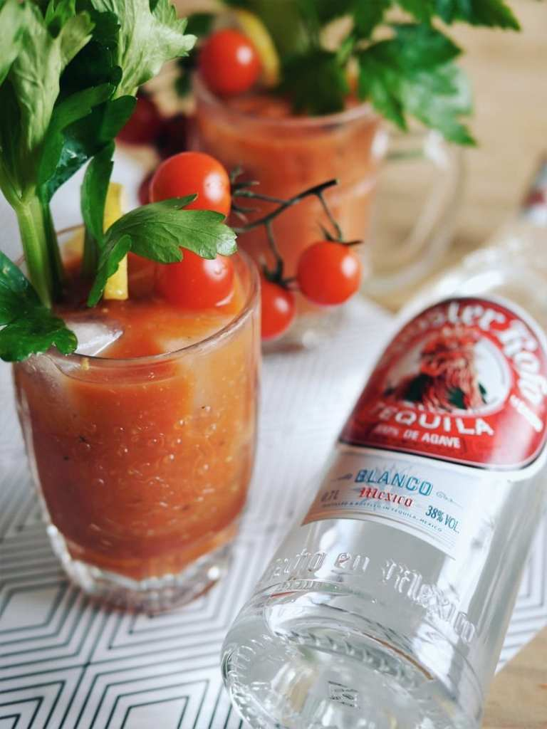 Bloody Maria hangover cocktail