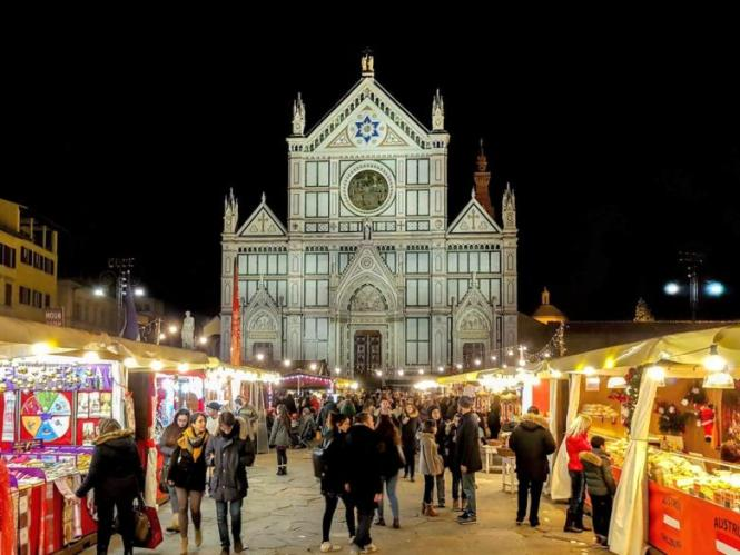christmas market florence