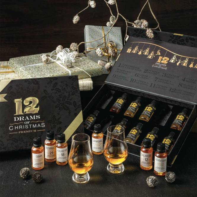 12 drams of christmas