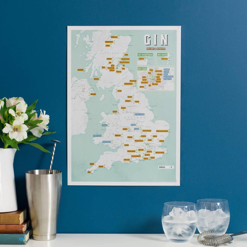 gin map