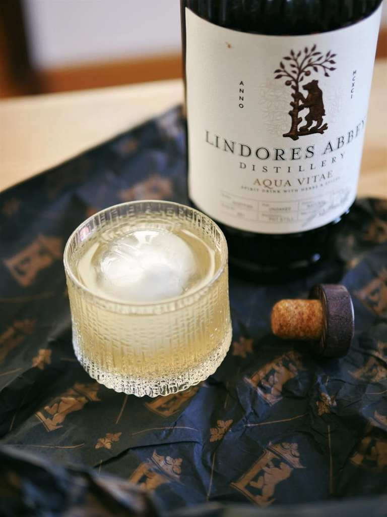 Lindores Abbey and whisky cocktail