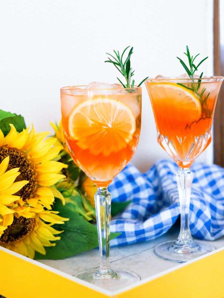 Summer Spritz cocktails