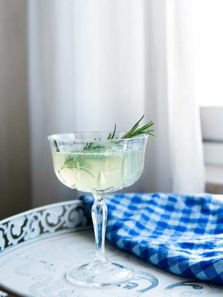 Green Chartreuse Spritz with Prosecco