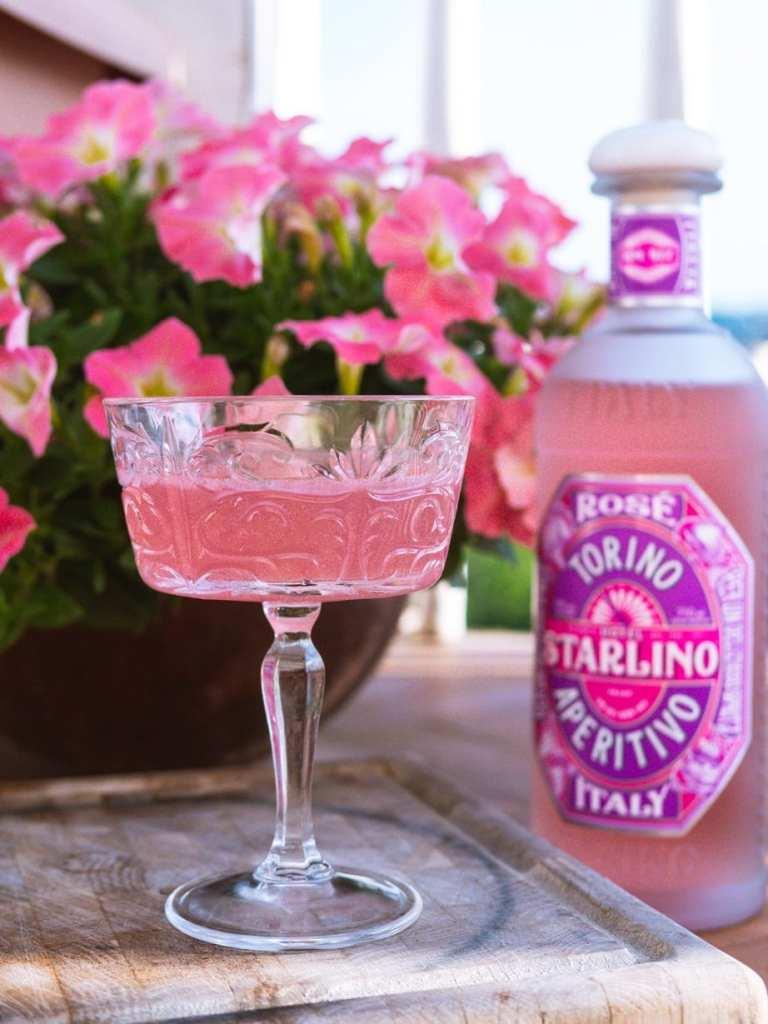 Hotel Starlino Rosé cocktail
