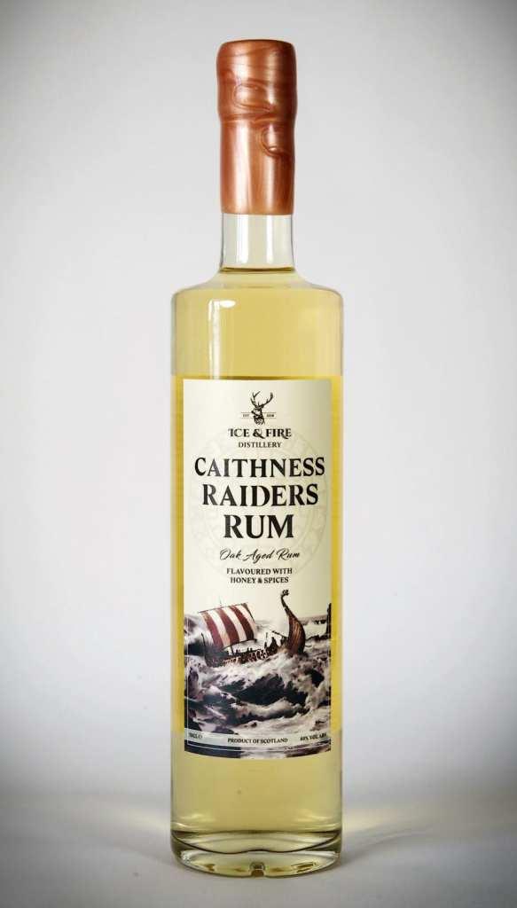 Caithness Raiders Scottish rum