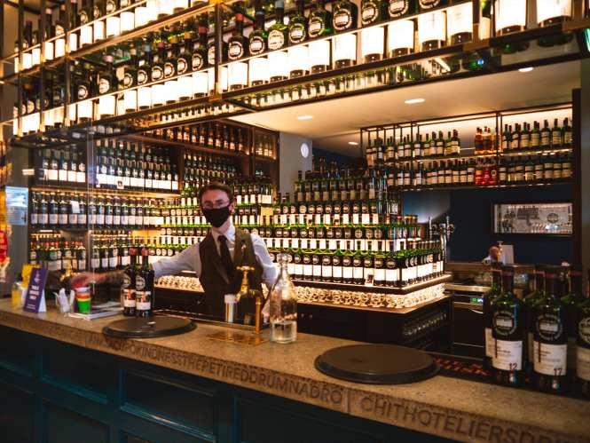 Scotch Malt Whisky Society (SMWS) in Glasgow