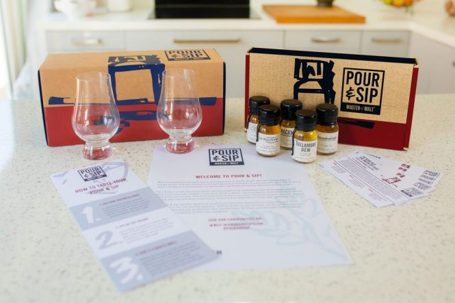 Sip and pour tasting set