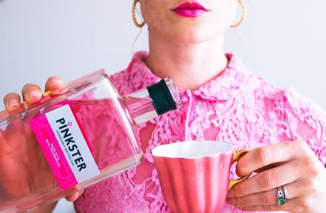 Pinkster Gin bottle