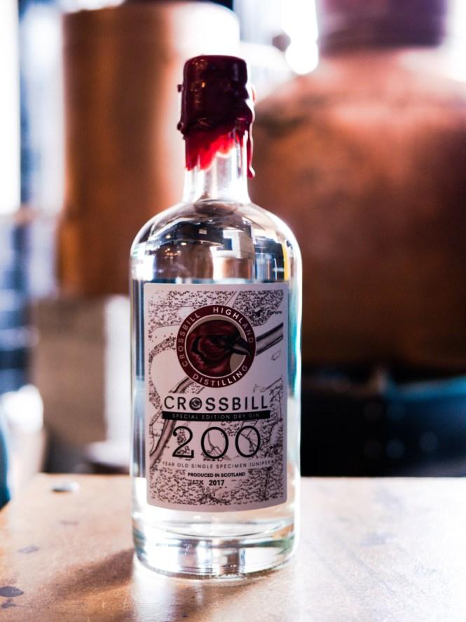 Crossbill Distillery 200 Gin from 2017