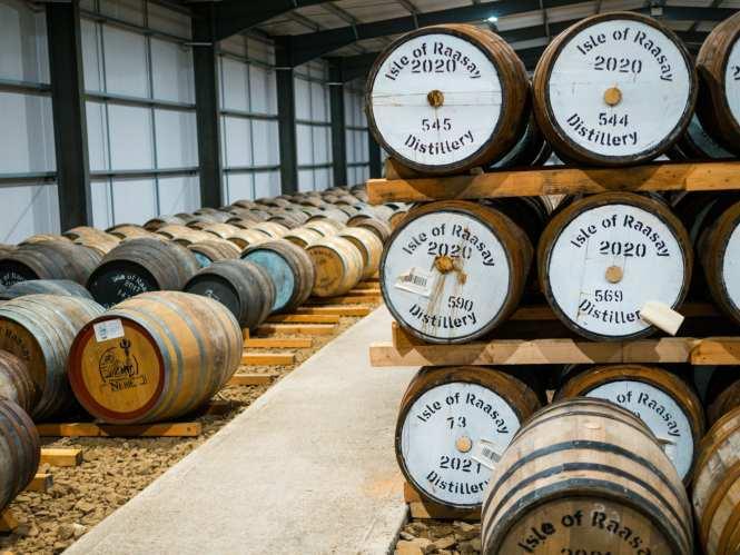 Distillery warehouse