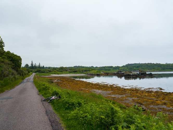 Cycling on islay