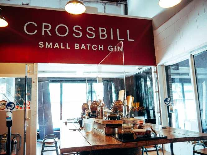 Crossbill distillery gin school
