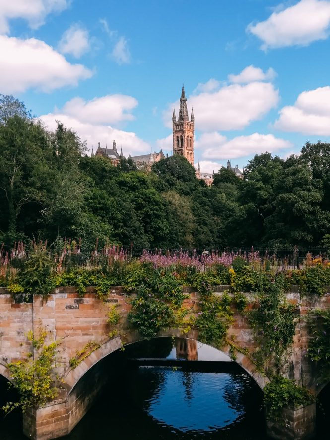River Kelvin and The University of Glasgow