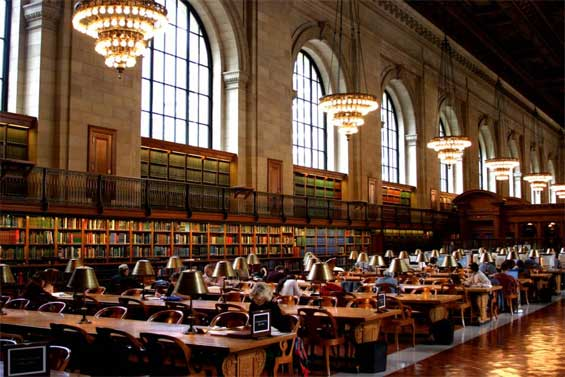 Image result for Manhattan's 42nd street research library