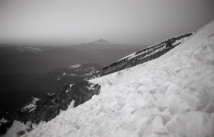 Mt Adams as seen from Mt Rainier