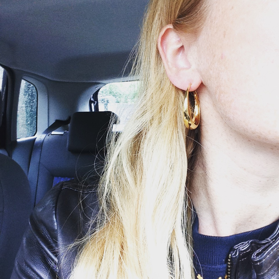 AW15 – gold hoops