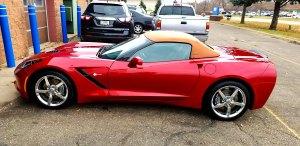 Corvette auto detailing Woodbury, MN.