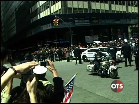 President Obama visits Ground Zero – May 5, 2011