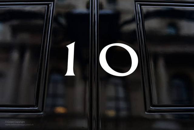 number 10 downing street -