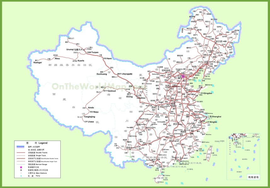 railway of china map » Another Maps [Get Maps on HD] | Full HD ...