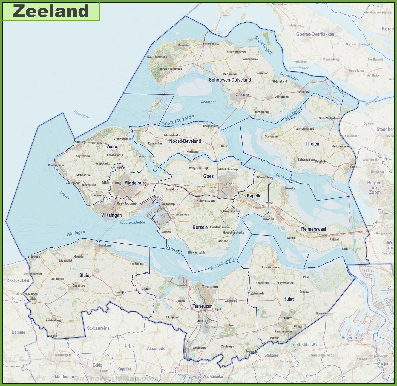 Zeeland Mi Zip Code Map