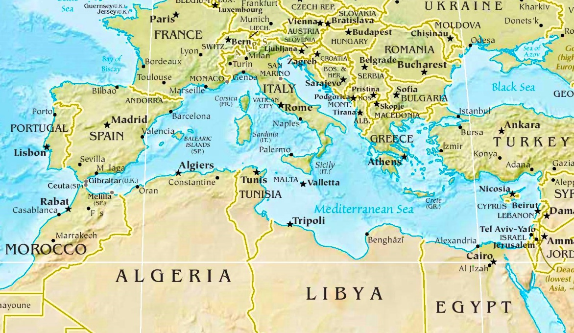 Image result for mediterranean sea